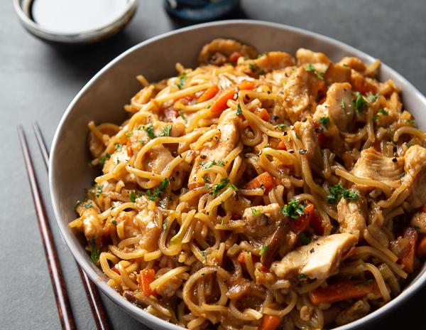 Recipe Simple Chow Mein
