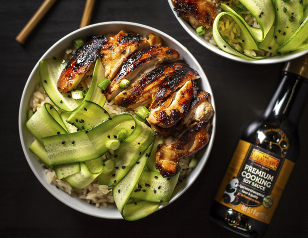 Recipe Soy Glazed Grilled Chicken Bowl