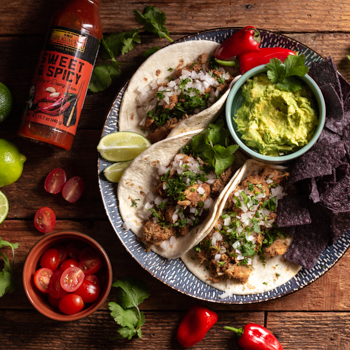 Spicy Chicken Tacos S