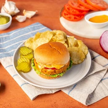 Recipe Sriracha Mayo Chickpea Burger S