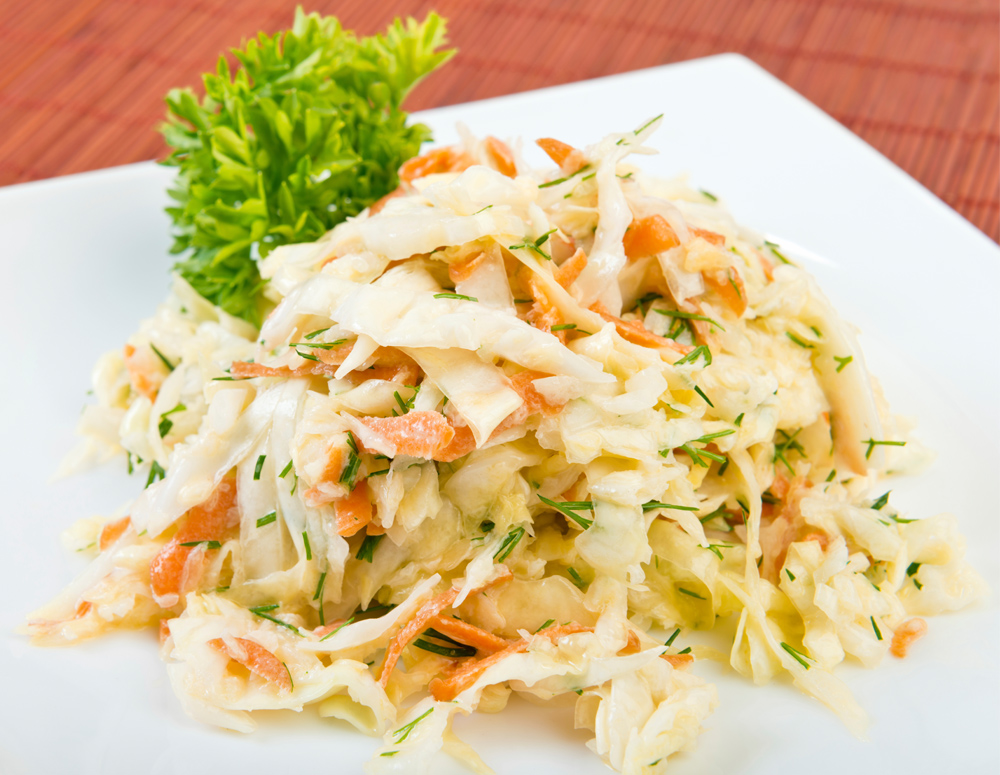 Recipe Spicy Coleslaw Salad