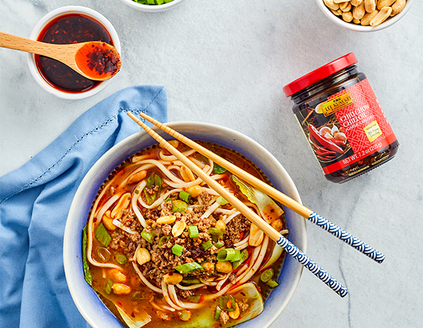 Recipe Spicy Dan Dan Noodles