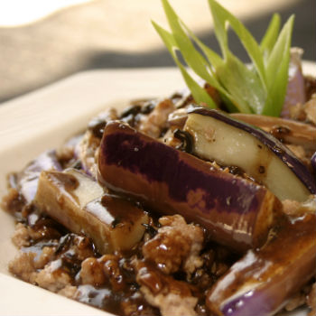 Recipe Spicy Eggplant with Black Bean Garlic Sauce