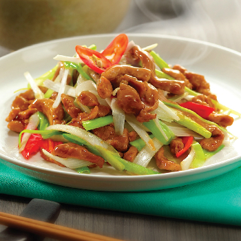 Recipe Stir Fried Pork with Green Onion