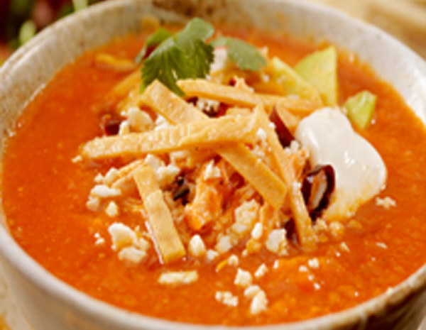 Recipe Summer Chicken and Lime Tortilla Soup