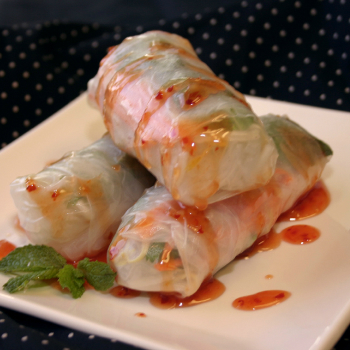 Recipe Summer Rolls with Thai Sweet Chili Sauce