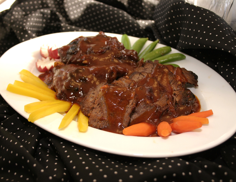 Recipe Sweet and Sour Brisket Delight
