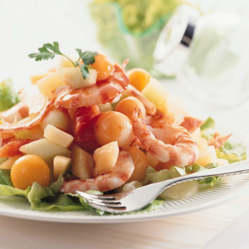 Recipe Sweet and Sour Prawn Salad S