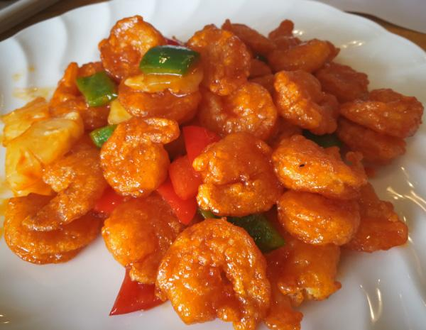 Recipe Sweet and Sour Shrimp Balls