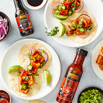 Recipe Sweet and Spicy Tofu Tacos S