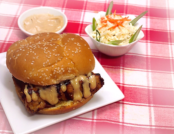 Recipe Sweet Grilled Chicken Sandwich