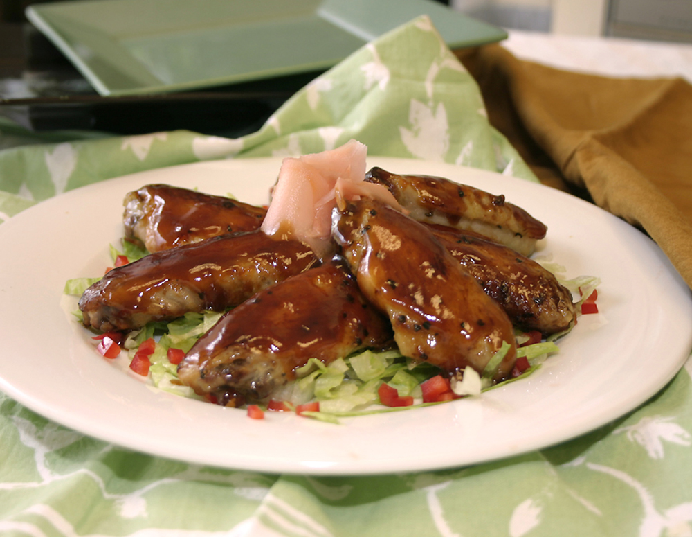 Recipe Teriyaki Chicken Wings
