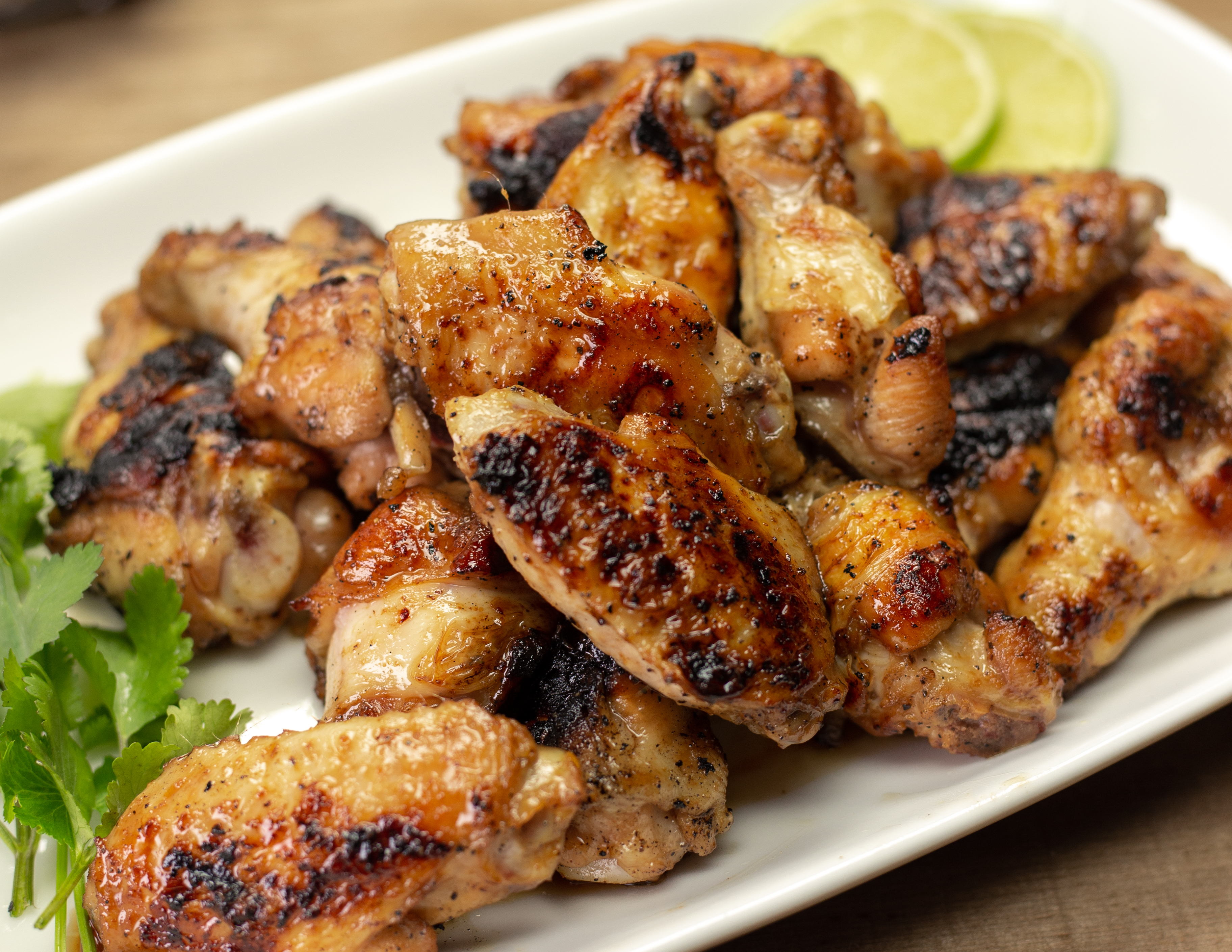 Recipe Thai Grilled Chicken Wings