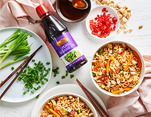 Recipe Thai Peanut Noodle Stir Fry