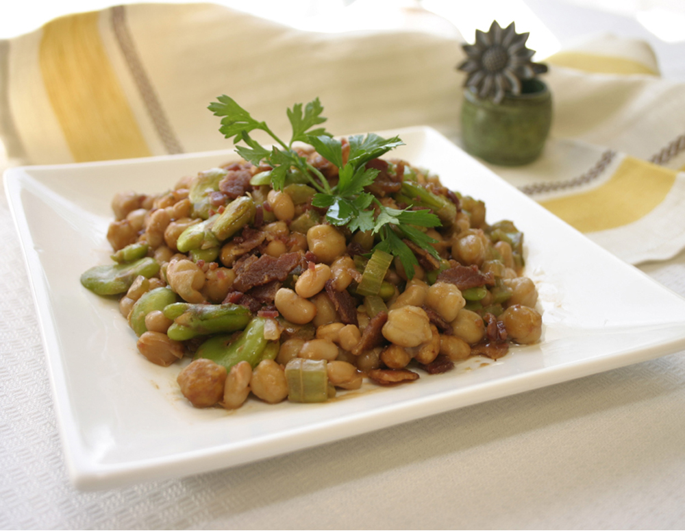 Recipe Three Bean Casserole