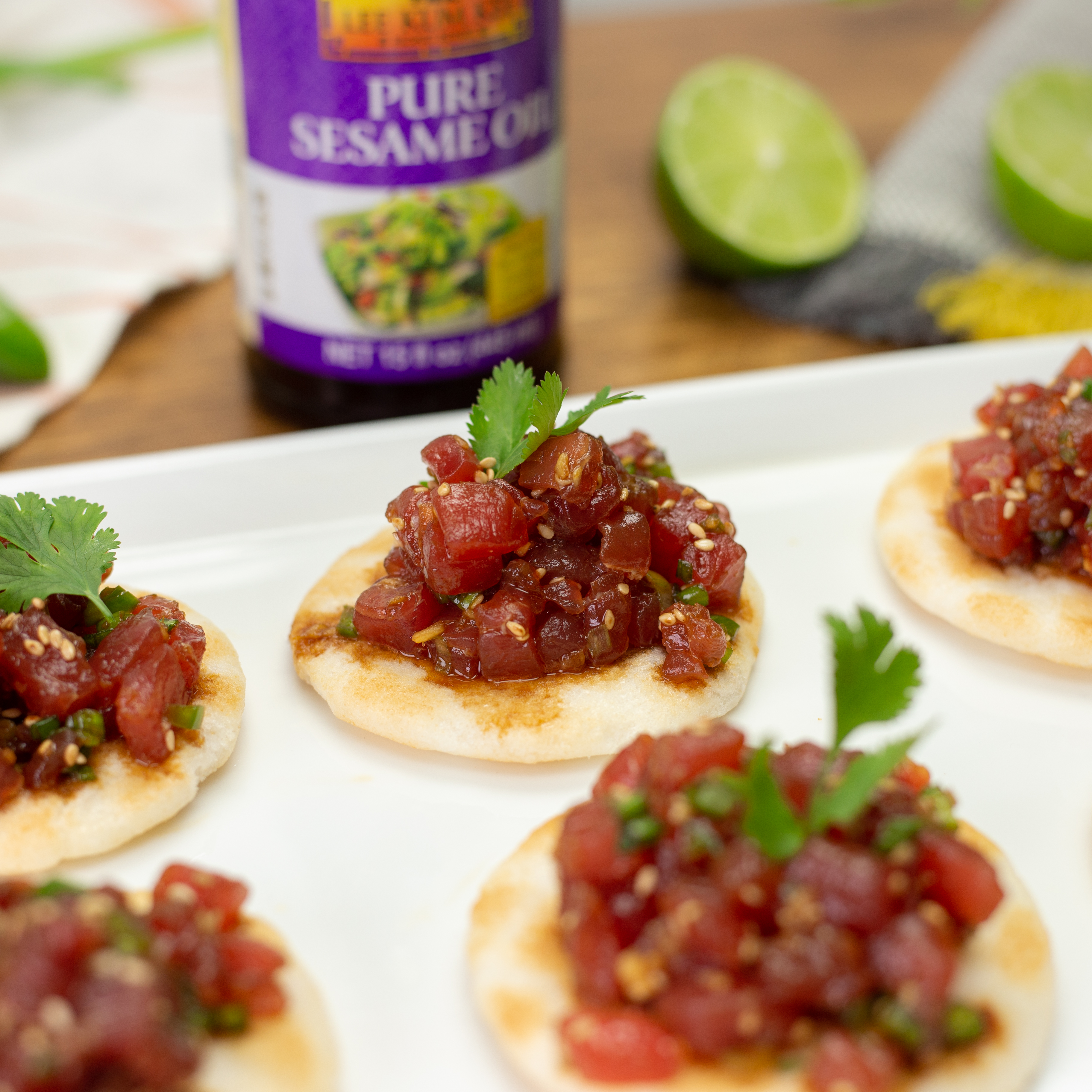 Recipe Tuna Tartare with Sesame, Chili and Ginger S