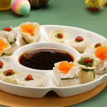 Recipe Wontons with Seasoned SS for Dumplings S