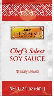 Chef's Select Soy Sauce Sachet pack