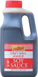 Chefs Select Soy Sauce 64oz 19L 10in1