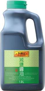 Less Sodium Soy Sauce 64oz 19kg 10in1
