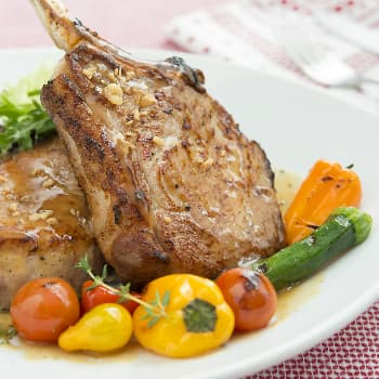 Recipe Garlic Flavored Black Pepper Pork Chop S