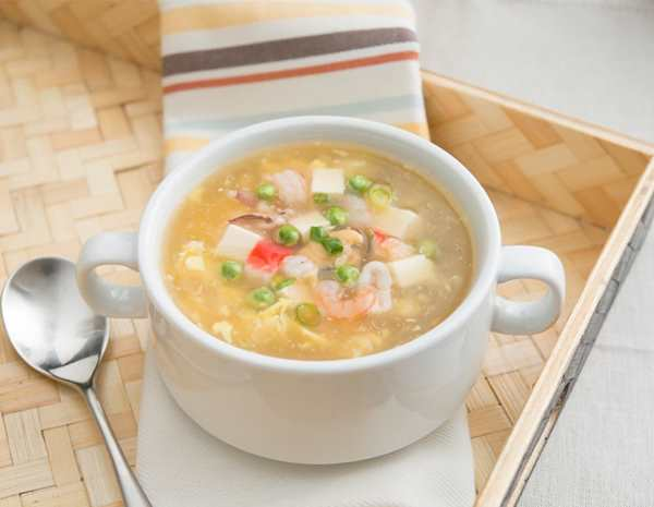 recipe seafood and tofu soup