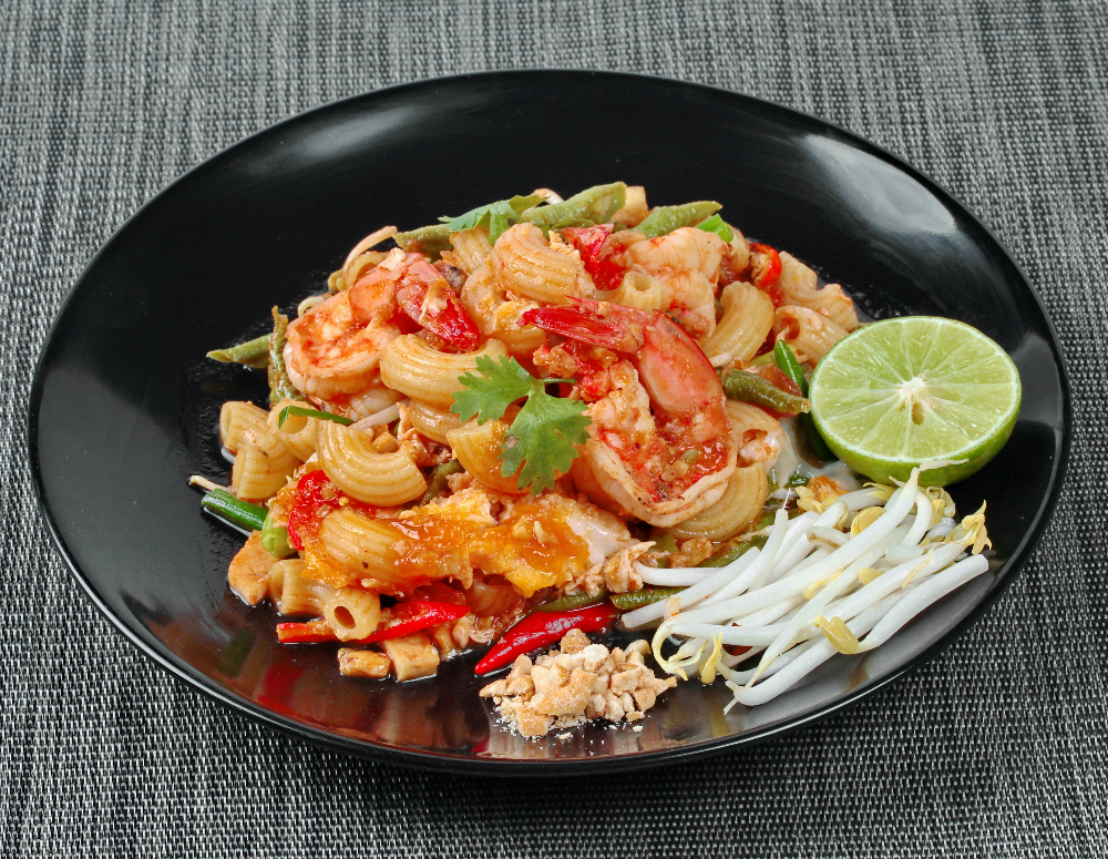 Spicy Shrimp Pad Thai