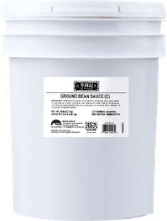 Ground Bean Sauce (C) KSA 44 lb Pail