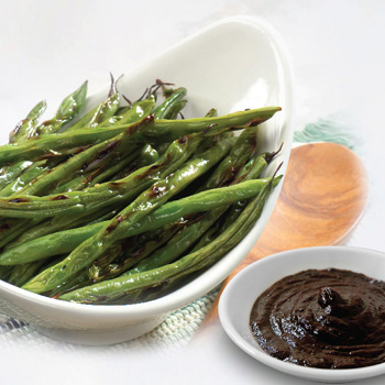 Asian Blistered Green Beans with Black Bean Sauce S