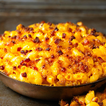Recipe Fried Chili Garlic Mac and Cheese S