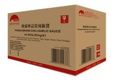 Chili Garlic Sauce (Panda Brand)